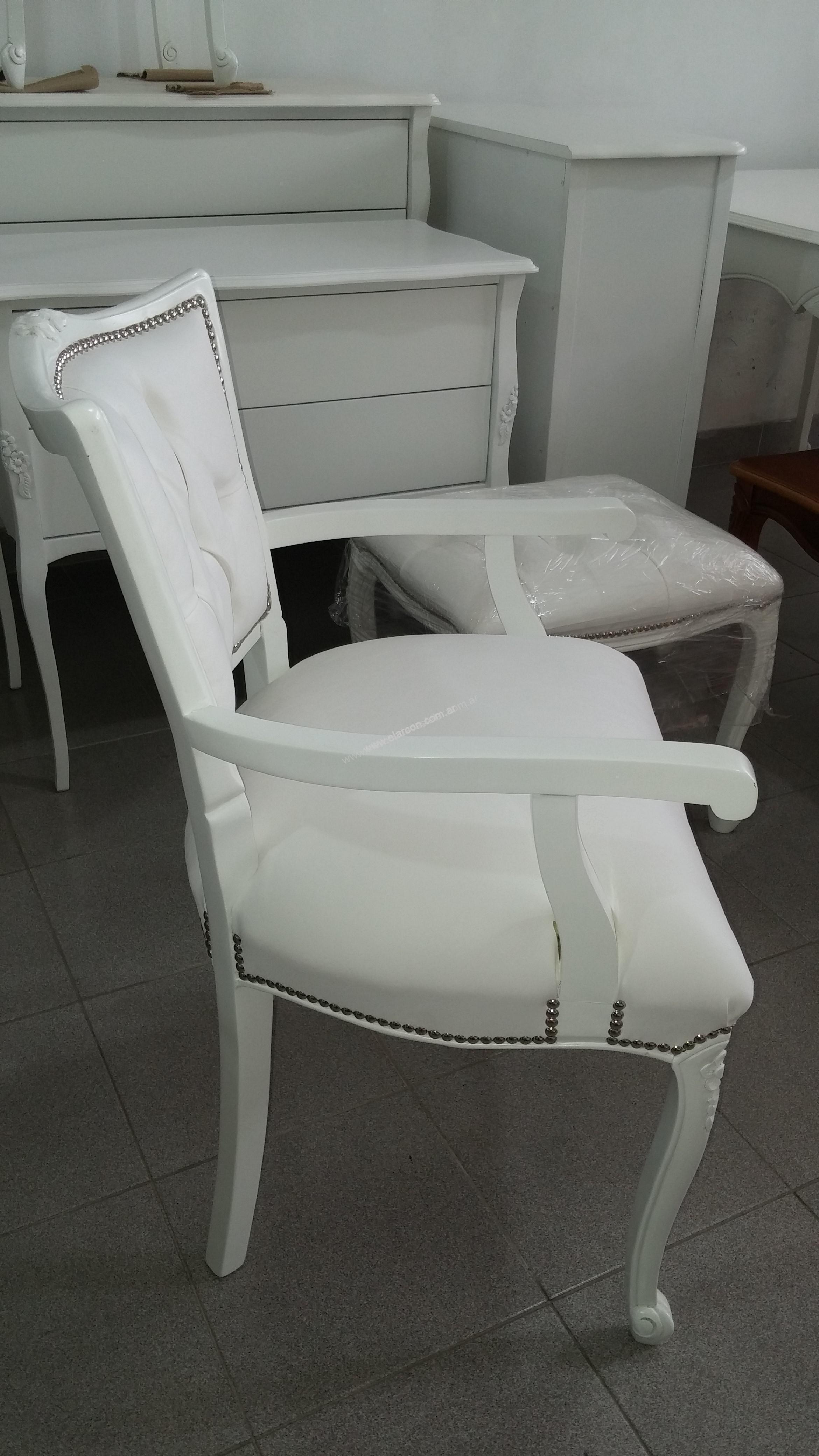 Sillones estilo provenzal cool par de sillones estilo - Sillones estilo frances ...