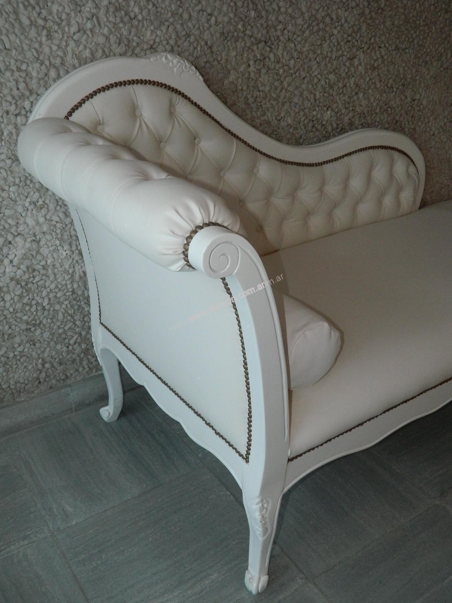 Chaise longue estilo frances provenzal el arc n - Sillones estilo frances ...