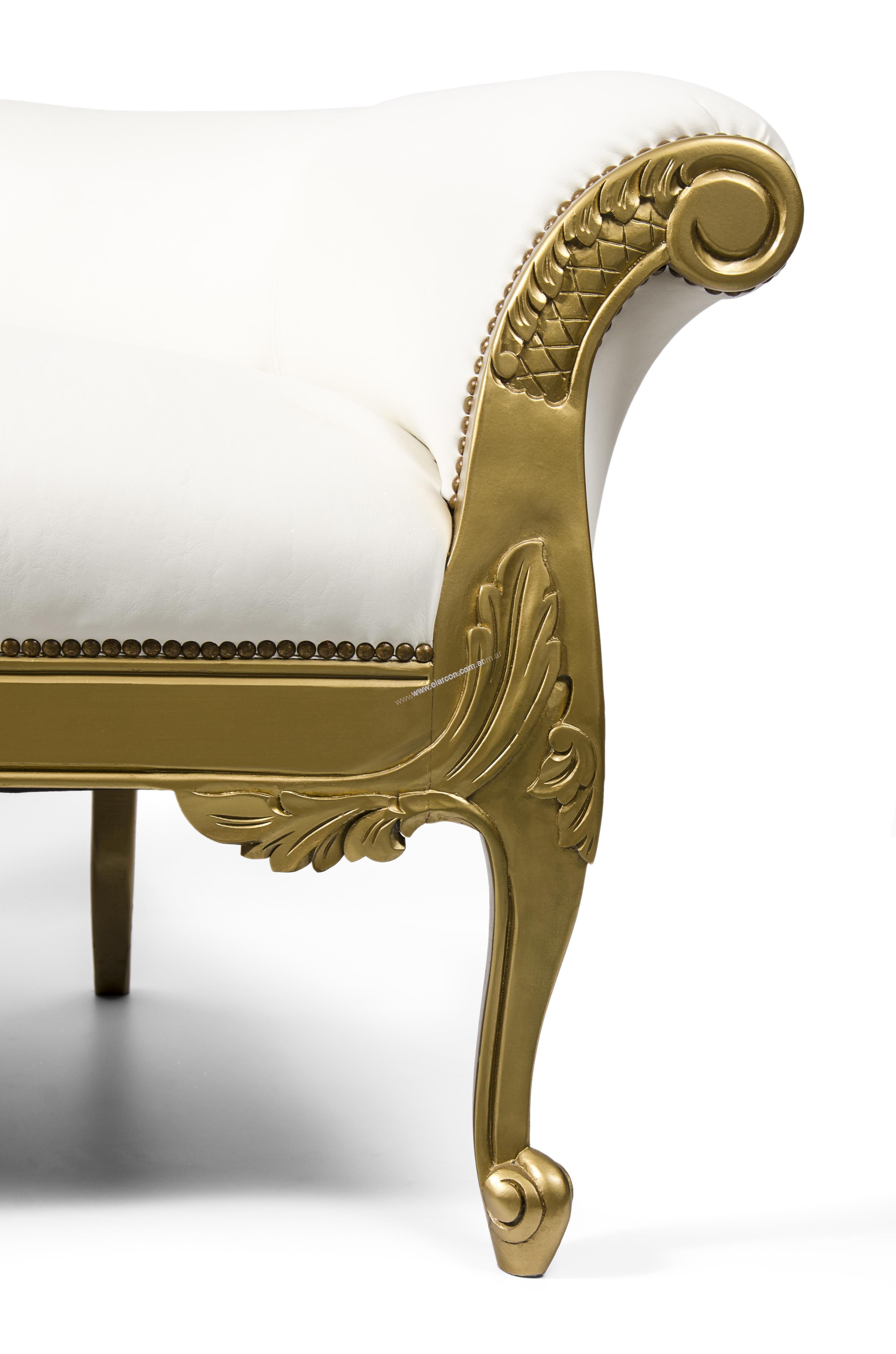 Chaise longue estilo franc s provenzal el arc n for Sillones chaise longue
